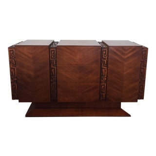 Polynesian Style Credenza by United Furniture For Sale