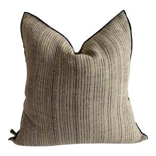 Zance Rustique Linen Pillow For Sale