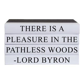 Pathless Woods Quote Book Stack - 4 Pieces For Sale