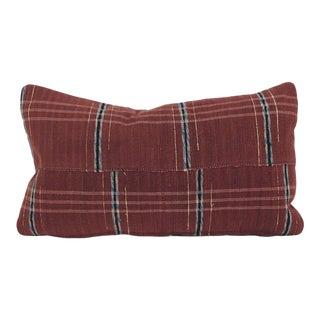 Japanese Maroon Sakiori Pillow For Sale