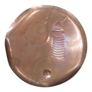 Mid-Century Copper Art by Rebajes