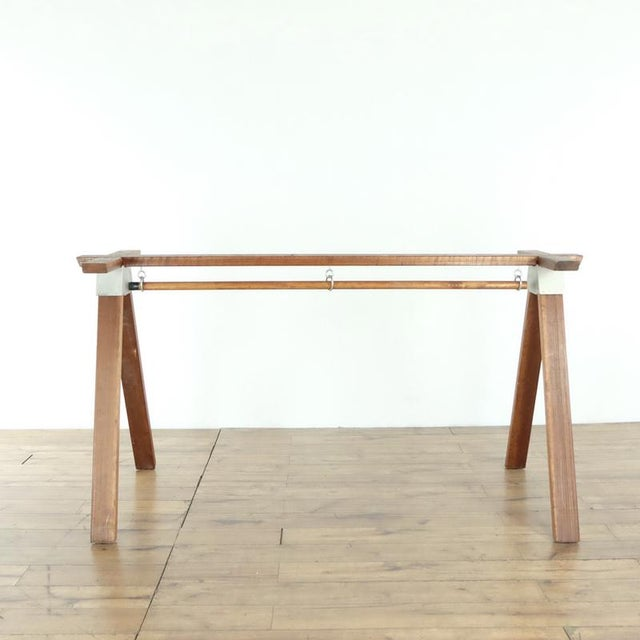 Metal Contemporary Henry Wilson Standing Desk Base For Sale - Image 7 of 7