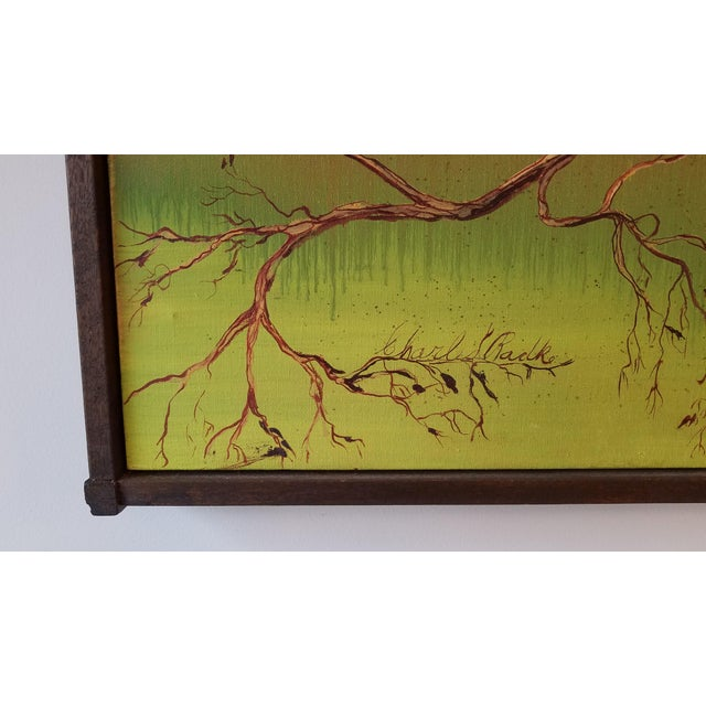 This painting of a madrone tree is a perfect representation of the pacific northwest. There is not much known about the...
