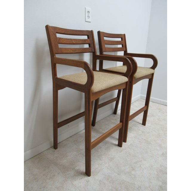 see matching stools in our store. Measurements ( L x W x H) 20.5 x 20 x 45.25 seat height 30.0. arm height 36.25. Great...