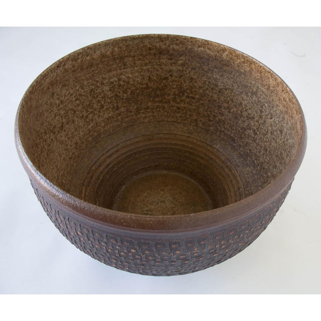 Bob Kinzie Bowl Planter for Affiliated Craftsmen - Image 5 of 7