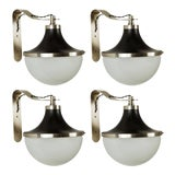 Image of 1960s Sergio Mazza 'Pi' Wall Lights For Sale