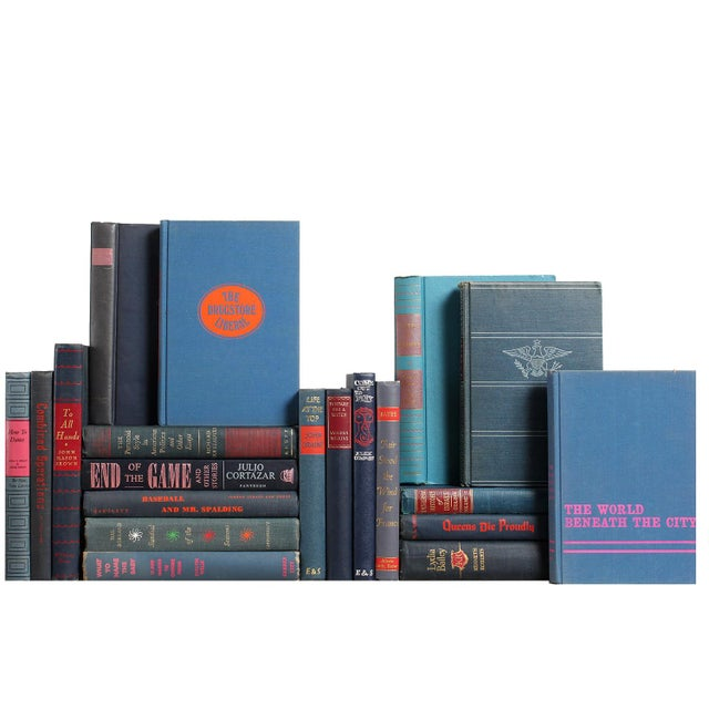 Assorted Mid-Century Books in Blue - Set of 20 - Image 1 of 2