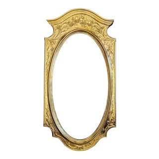 Syroco Gold Regency Mirror For Sale