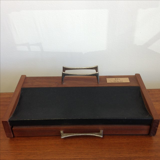 Mid-Century Desk Organizer by Don Lopez - Image 3 of 11