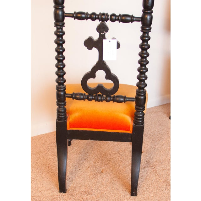 19th Century French Napoleon III Second Empire Prie-Dieu Prayer Chair For Sale In Detroit - Image 6 of 9