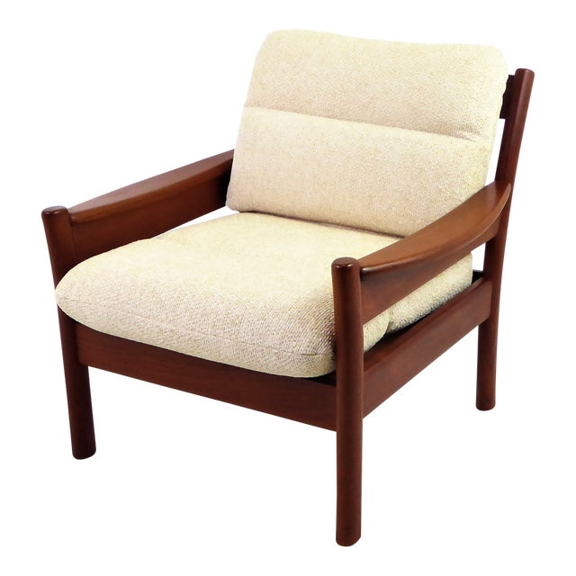 Dyrlund Lounge Teak Lounge Armchair, Denmark 1960s For Sale