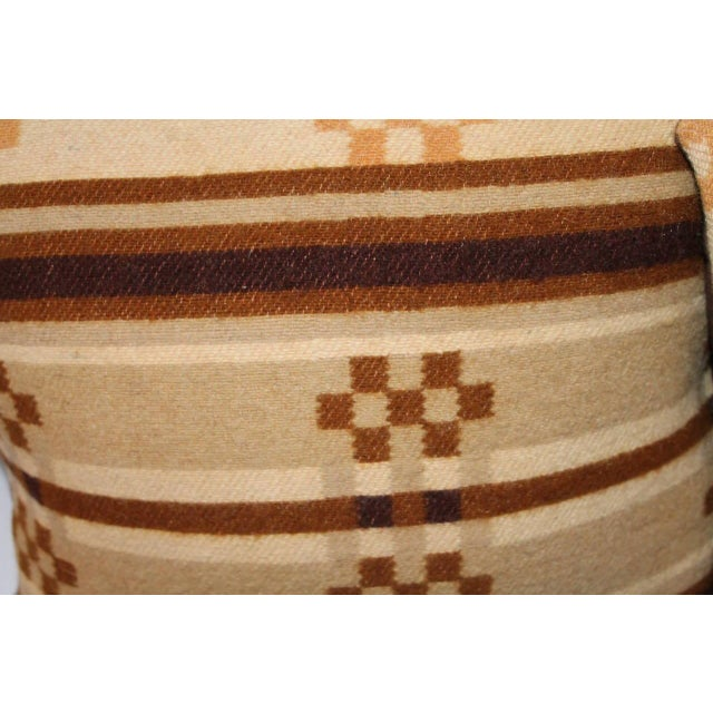 Group of Four Horse Blanket Pillows For Sale In Los Angeles - Image 6 of 10