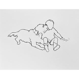 """""""Thousand Things"""" Contemporary Minimalist Drawing by Tawna Allred For Sale"""