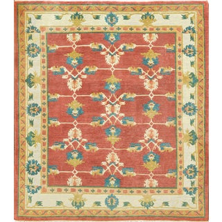 Mansour Fine Quality Tibetan Rug - 8′ × 9′