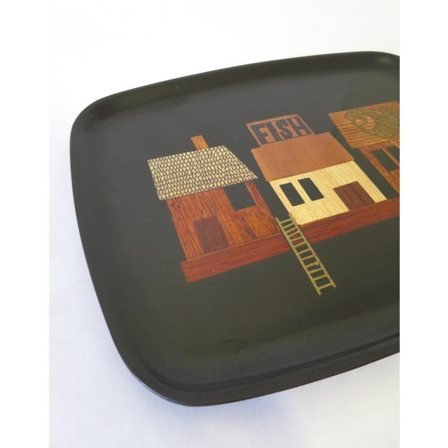 Vintage Couroc Serving Tray - Image 5 of 6