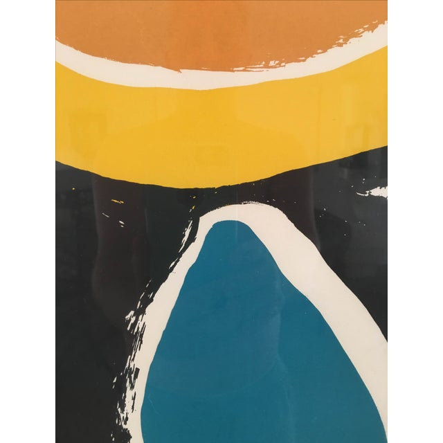 Vintage Abstract Lithograph - Image 4 of 6