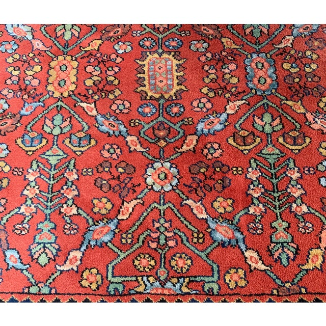 Vintage Serapi #729 Karastan Wool Rug - 8′8″ × 12′ For Sale - Image 4 of 11