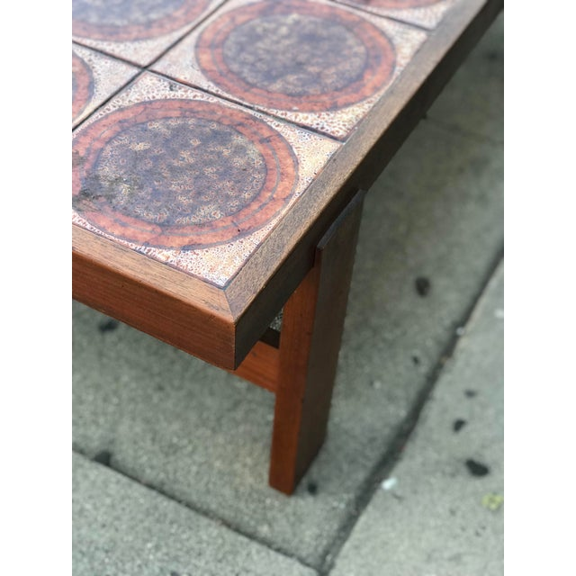 Danish Mid Century Tile-Top Coffee Table - Image 8 of 13