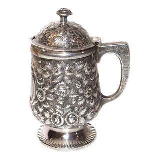 A.E. Warner Sterling Silver Krider and Biddle Jelly Pot