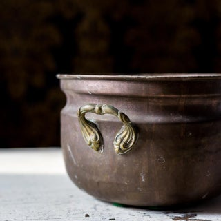Vintage Hammered Copper Ice Bucket Preview