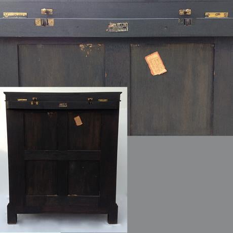 c.1950s James Mont Designed Asian-Style Dry Bar Cabinet by George Zee & Co. For Sale - Image 12 of 13