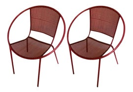 Image of Iron Side Chairs