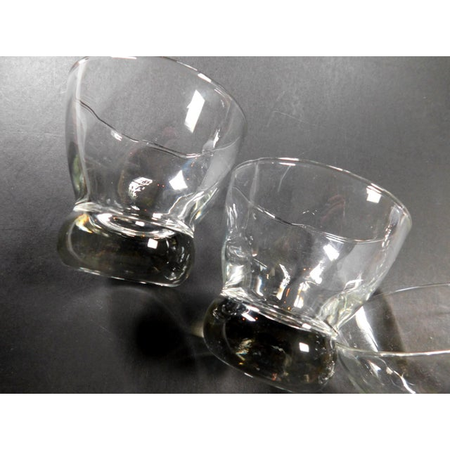 Glass Short Aperitif Glasses - Set of 6 For Sale - Image 7 of 9