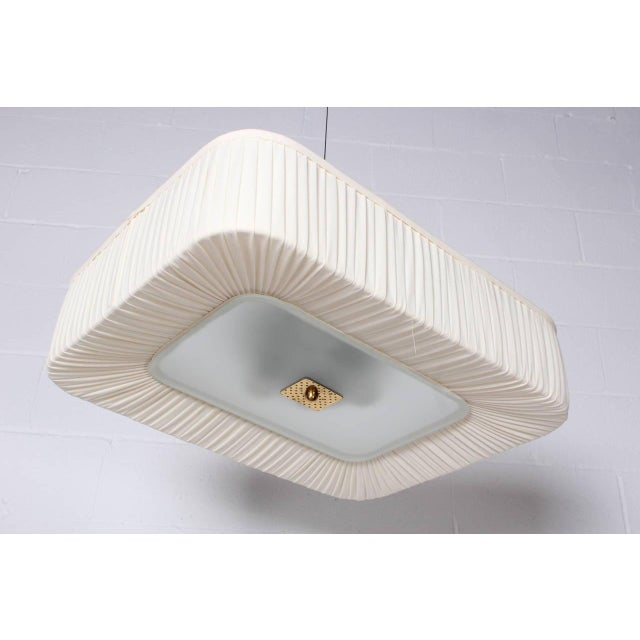 Flush Mount Light Fixture by Paavo Tynell for Idman - Image 5 of 10