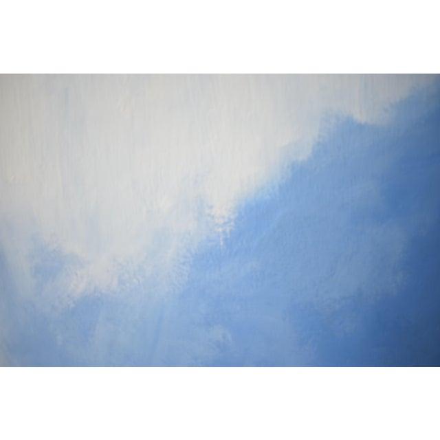 Modern Blue Bloom Painting - 3040 - Image 2 of 5