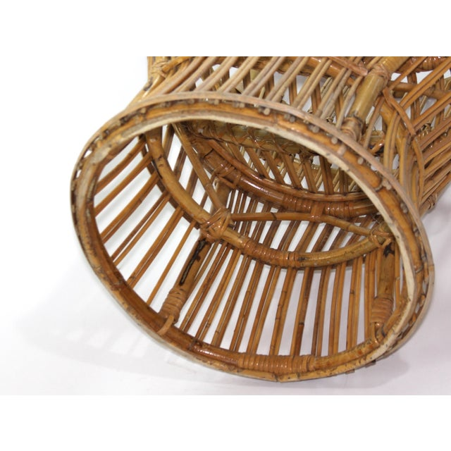Franco Albini Style Rattan Chairs - A Pair - Image 9 of 11