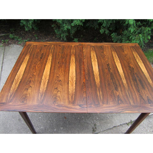 Westnofa Norway Mid-Century Brazilian Rosewood Dining Table - Image 4 of 7