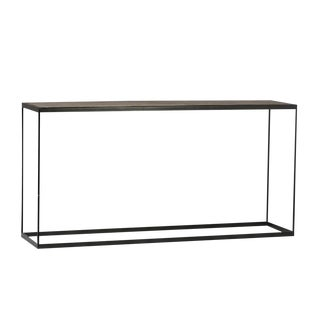Iron Wood Top Console
