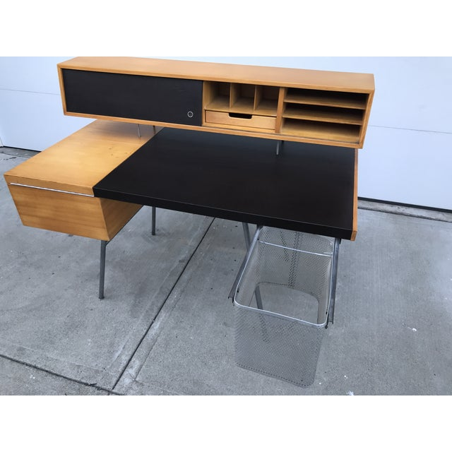 1950s Mid-Century Modern George Nelson for Herman Miller Home Office Desk