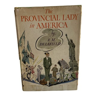 1934 The Provincial Lady in America Book For Sale