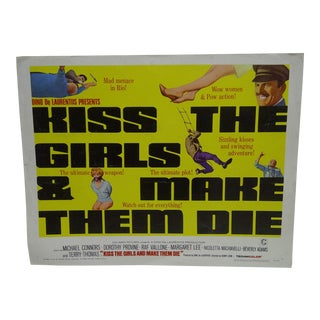 "Vintage Movie Poster ""Kiss the Girls"" For Sale"