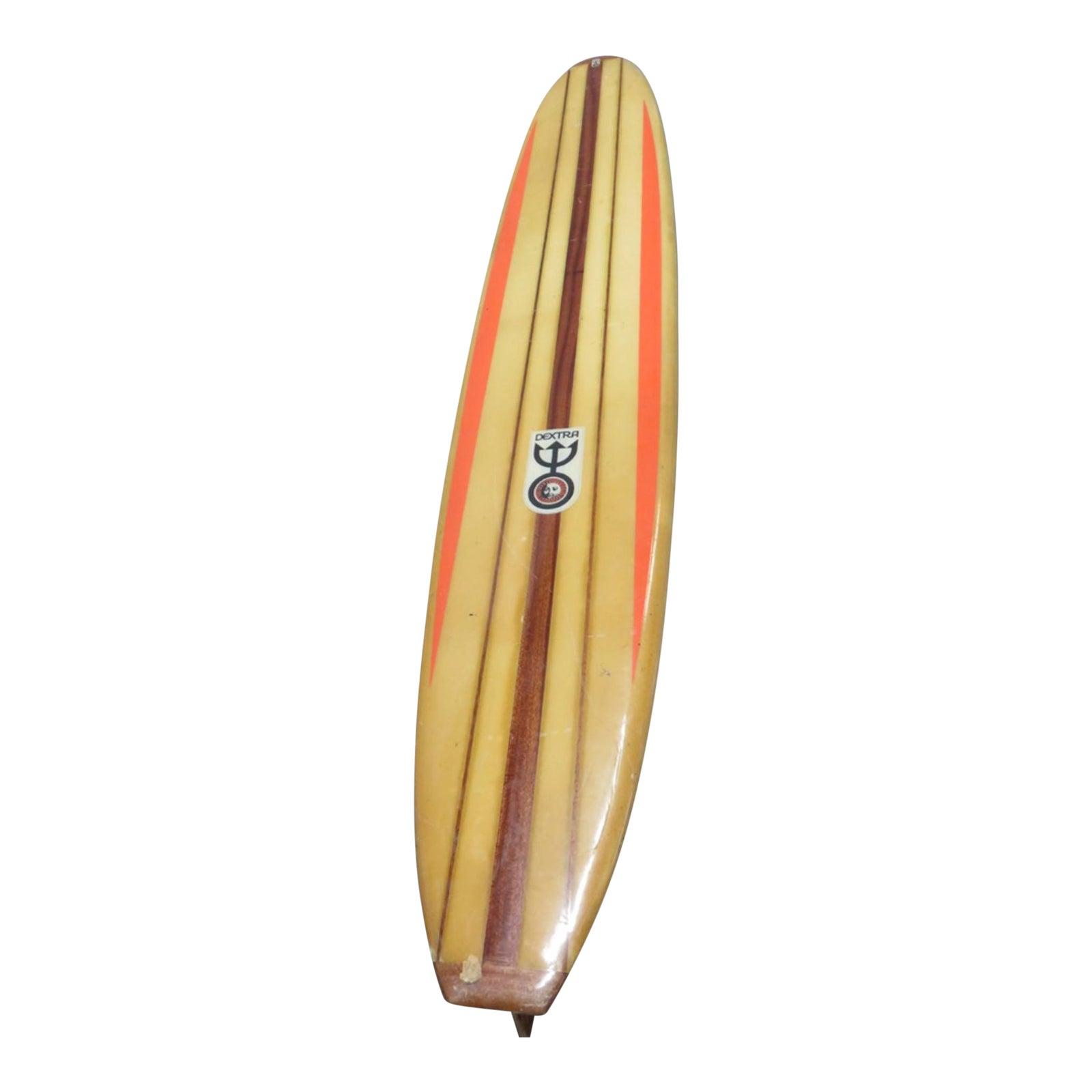 Dextra Surfboard Longboard 1960s Last Chance | Chairish