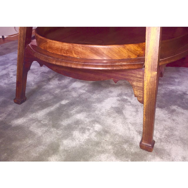 """Truex American Furniture """"Curated"""" 1910 Belgian Butlers Table For Sale - Image 4 of 5"""