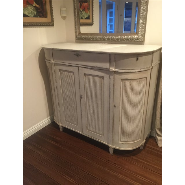 H.D. Buttercup Rounded Corner Buffet For Sale - Image 4 of 4