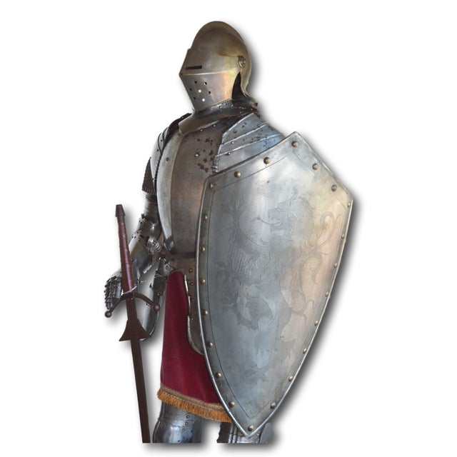 Repro Brogan Medieval Suit of Armor - Image 3 of 11