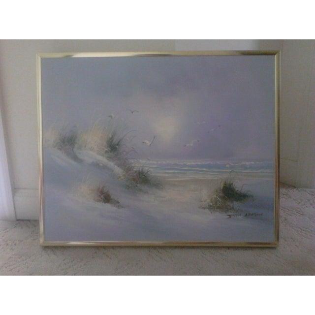 """""""Ocean"""" by John Leman, Oil Painting - Image 6 of 7"""