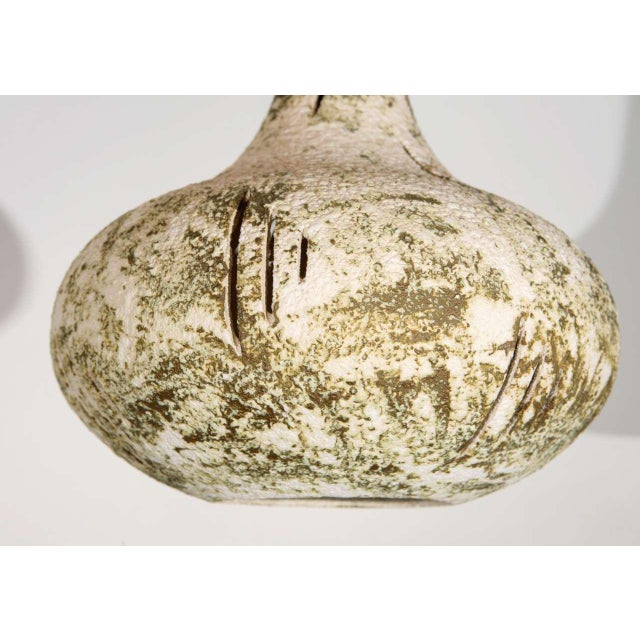 Mid-Century Modern 1950s Abstract Ceramic Fixture For Sale - Image 3 of 8