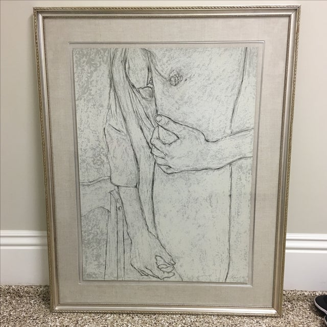 "George Segal ""The Robe"" Lithograph - Image 2 of 8"