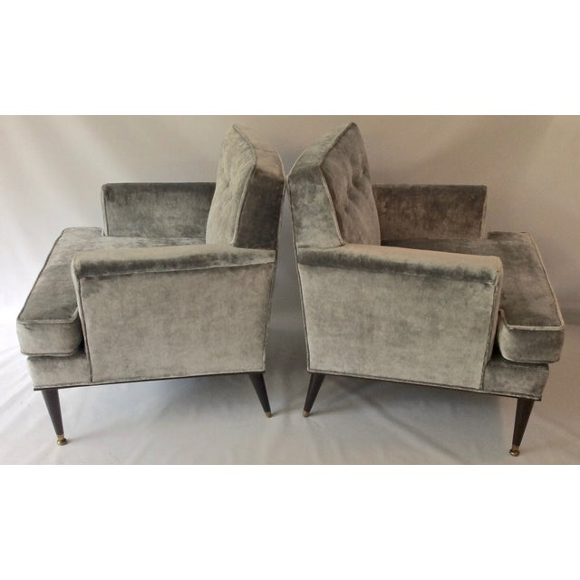 Mid-Century Probber Attr. Lounge Chairs - Pair - Image 4 of 10
