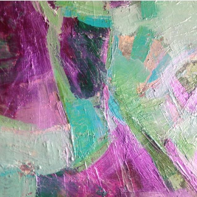 Abstract Painting - Resplendent - Image 1 of 2
