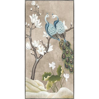 Kenneth Ludwig Print, Birds with Magnolias II For Sale