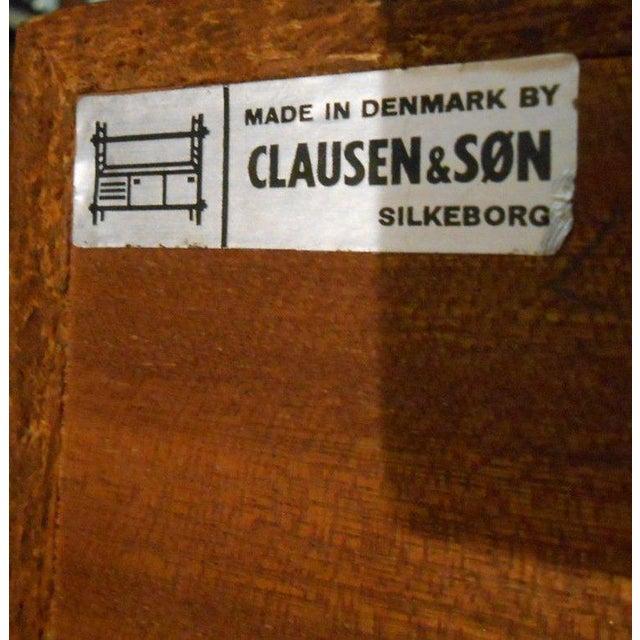 Vintage Danish Modern Clausen & Son Credenza - Image 7 of 7