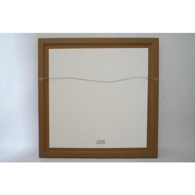 Vintage Vasarely Pencil Signed and Numbered Limited Edition 67/250 Op Art Original Print Custom Framed For Sale - Image 10 of 11