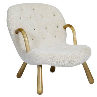 """Philip Arctander """"Clam"""" Chair For Sale"""