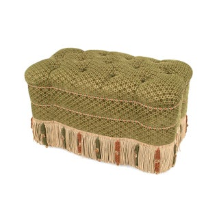French Victorian Style '20th Century' Rectangular Shaped Ottoman 'Bench' Preview