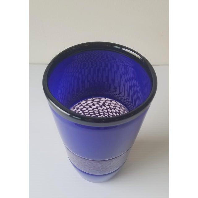 Steve Gibbs Blown Glass Vase for Corning Museum of Glass For Sale - Image 13 of 13